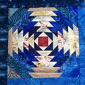 Для дома и интерьера ручной работы. Ярмарка Мастеров - ручная работа Лоскутная подушка Шишка. Handmade.