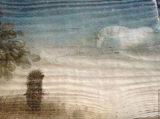 Репродукции ручной работы. Ярмарка Мастеров - ручная работа. Купить Ёжикк.. Handmade. Ежик, панно, подарок, панно на заказ, кантри