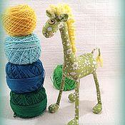 Куклы и игрушки ручной работы. Ярмарка Мастеров - ручная работа Миниатюрный жираф :)). Handmade.