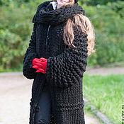 Одежда ручной работы. Ярмарка Мастеров - ручная работа Теплый кардиган-пальто. Handmade.