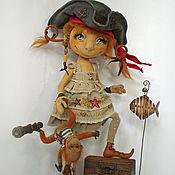 Куклы и игрушки ручной работы. Ярмарка Мастеров - ручная работа Дженни и мистер Рик. Коллекционная кукла. Handmade.