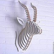 Для дома и интерьера ручной работы. Ярмарка Мастеров - ручная работа Голова антилопы. Handmade.