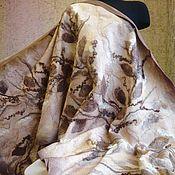 "Палантины ручной работы. Ярмарка Мастеров - ручная работа Палантин валяный "" Зима"". Handmade."