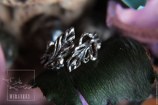 """Кольца ручной работы. Ярмарка Мастеров - ручная работа. Купить Кольцо """"Лоза"""". Handmade. Бежевый, плетение, безразмерное кольцо, бронза"""