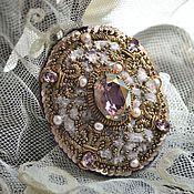"""Украшения ручной работы. Ярмарка Мастеров - ручная работа Брошь """"Lilac"""". Handmade."""