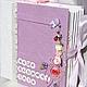 """Фотоальбомы ручной работы. Ярмарка Мастеров - ручная работа. Купить альбом для девочки """"Моя малышка"""". Handmade. Розовый, скрапбукинг фотоальбом"""