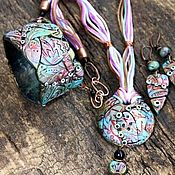 handmade. Livemaster - original item Set of jewelry in the ethnic style
