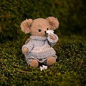Куклы и игрушки ручной работы. Ярмарка Мастеров - ручная работа Тедди мышонок Павлик  9см.. Handmade.