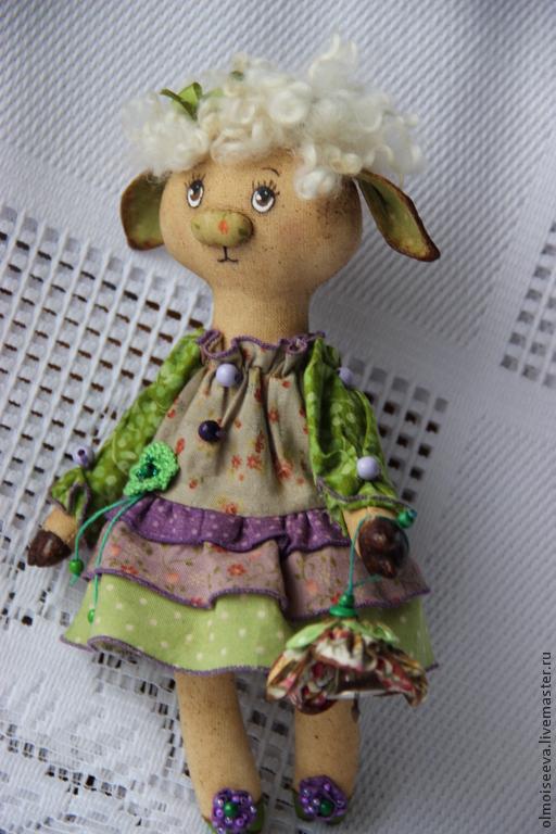 Ароматизированные куклы ручной работы. Ярмарка Мастеров - ручная работа. Купить Козочка Груня. Handmade. Ароматизированная игрушка, предмет интерьера