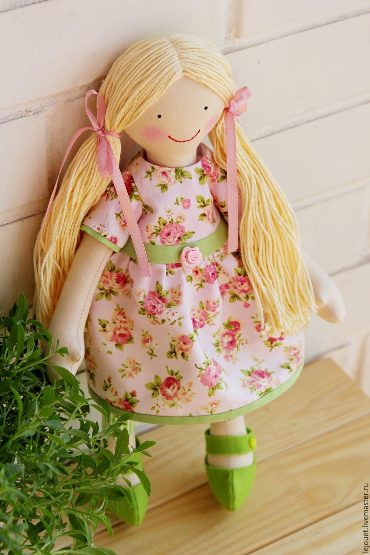 """Коллекционные куклы ручной работы. Ярмарка Мастеров - ручная работа. Купить Кукла игровая текстильная """"Лилит"""". Handmade. Кукла"""