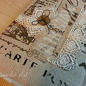 """Подарки к праздникам ручной работы. Ярмарка Мастеров - ручная работа Блокнот  """"Парижанка"""". Handmade."""