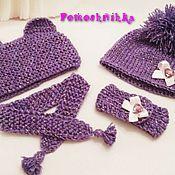 Шапка и шарфик для игрушек