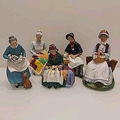 Статуэтки ручной работы. Ярмарка Мастеров - ручная работа Коллекция от Royal Doulton. Handmade.