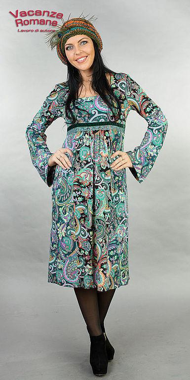 Платья ручной работы. Ярмарка Мастеров - ручная работа. Купить Vacanze Romane-960. Handmade. Авторское платье, дизайнерская одежда