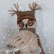Куклы и игрушки ручной работы. Ярмарка Мастеров - ручная работа Первый снег.. Handmade.