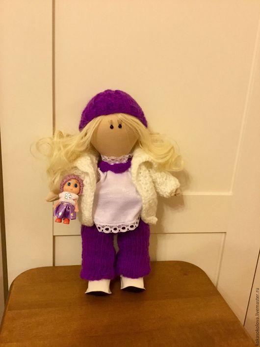 Коллекционные куклы ручной работы. Ярмарка Мастеров - ручная работа. Купить Кукла Лапушка. Handmade. Подарок девушке, подарок женщине