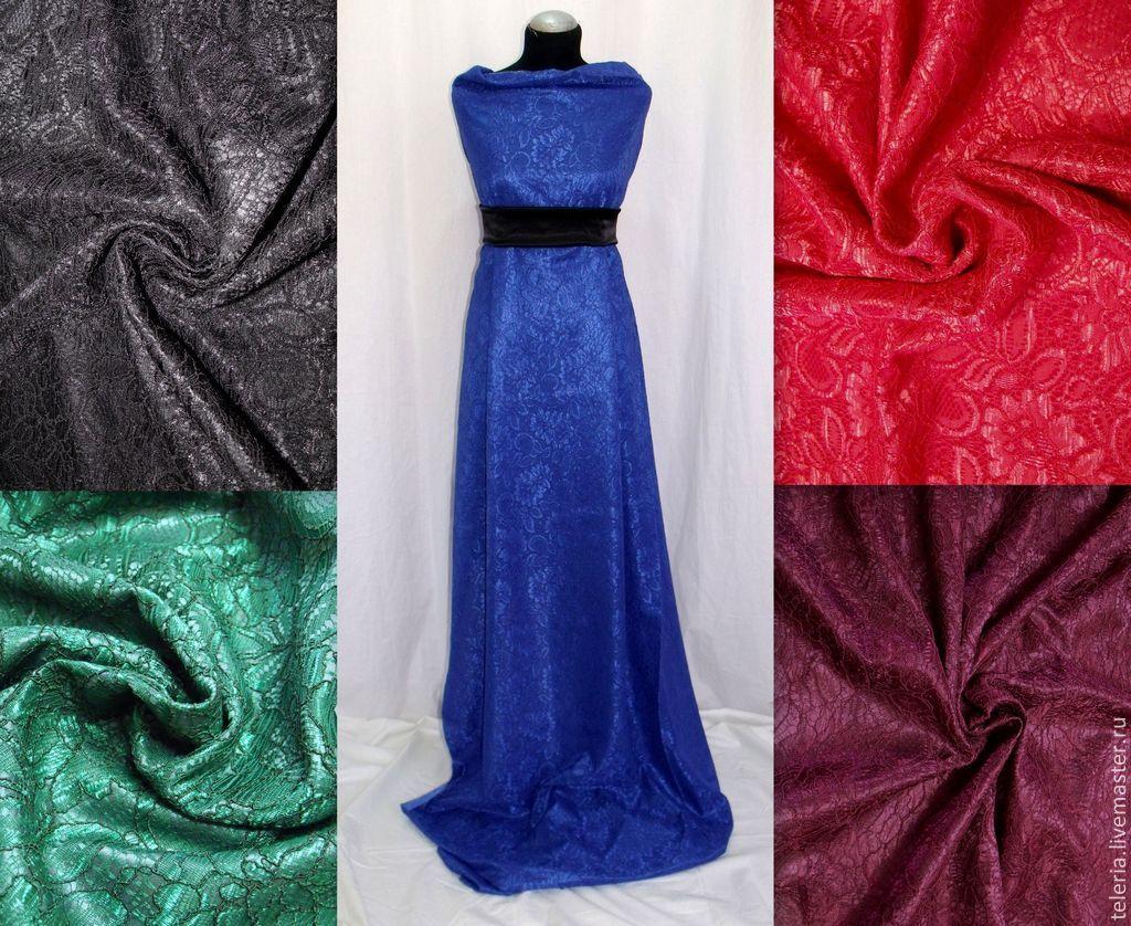 Как сшить платье трикотажное с кружевом
