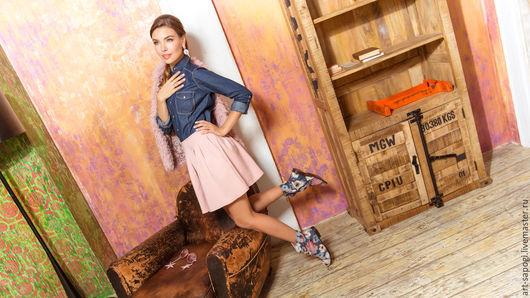 Обувь ручной работы. Ярмарка Мастеров - ручная работа. Купить Летние сапоги 3-152. Handmade. Лето, джинс, ботиночки