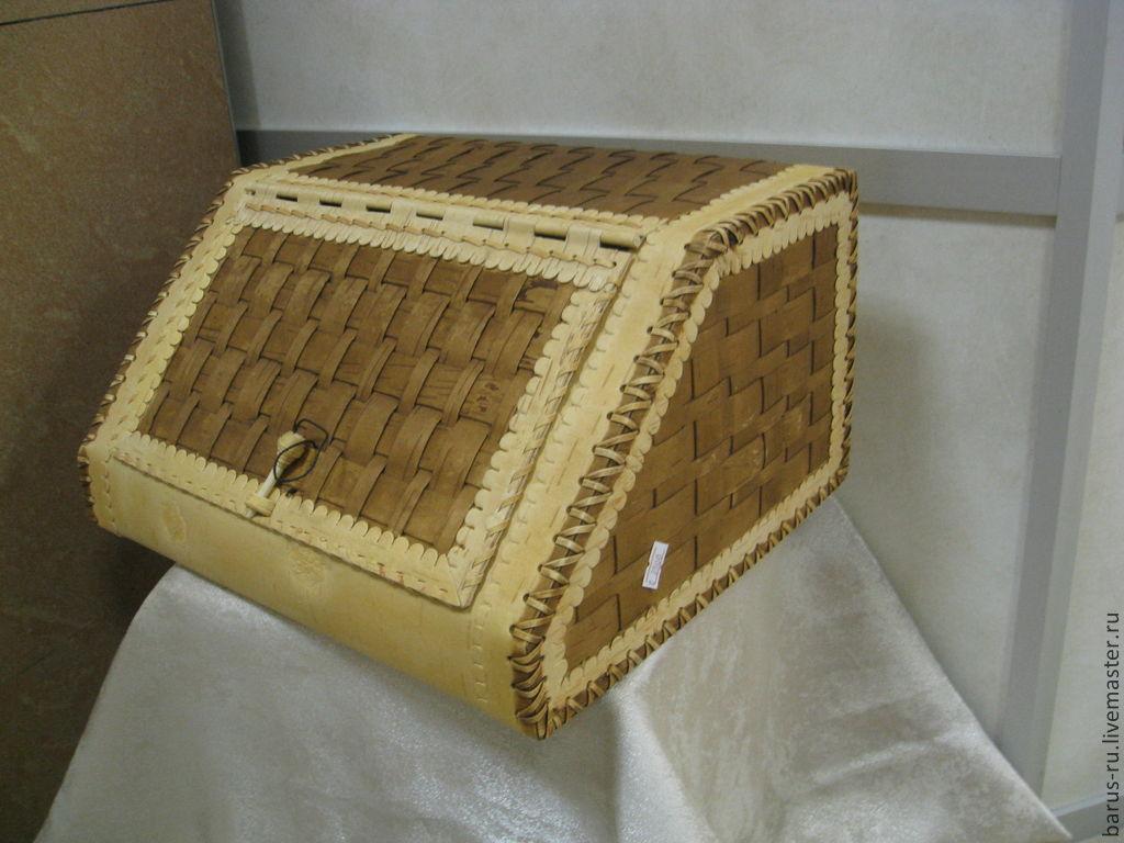 Хлебница из бересты, Корзины, Москва,  Фото №1