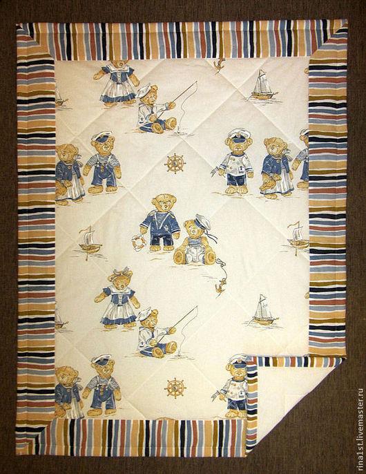 Пледы и одеяла ручной работы. Ярмарка Мастеров - ручная работа. Купить Стеганое одеяло (покрывало,плед ) в детскую. Handmade.
