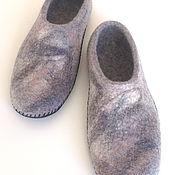 Обувь ручной работы handmade. Livemaster - original item Felted Slippers for men. Handmade.