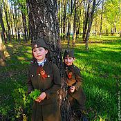 Работы для детей, ручной работы. Ярмарка Мастеров - ручная работа Детская военная форма. Handmade.