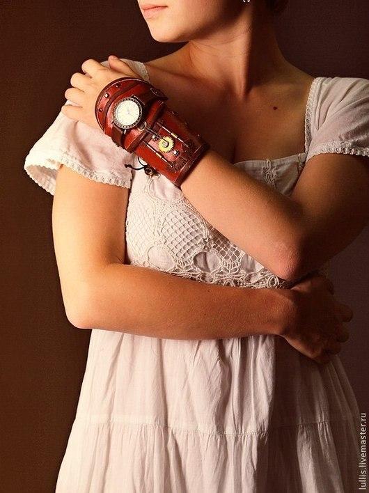 стимпанк часы от Луллис Ольги