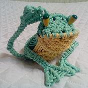 """Куклы и игрушки ручной работы. Ярмарка Мастеров - ручная работа лягушка """"Ква Ква"""""""". Handmade."""