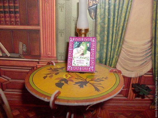 """Кукольный дом ручной работы. Ярмарка Мастеров - ручная работа. Купить Миниатюрная книга """"Майская ночь, или Утопленница"""". Handmade."""