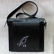 """Кожаная сумка """"Перо"""""""