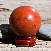 Фен-шуй и эзотерика handmade. Livemaster - original item Ball Jasper red. Sphere. Stone amulet talisman. Handmade.