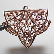 Материалы для творчества handmade. Livemaster - original item Pendants for earrings