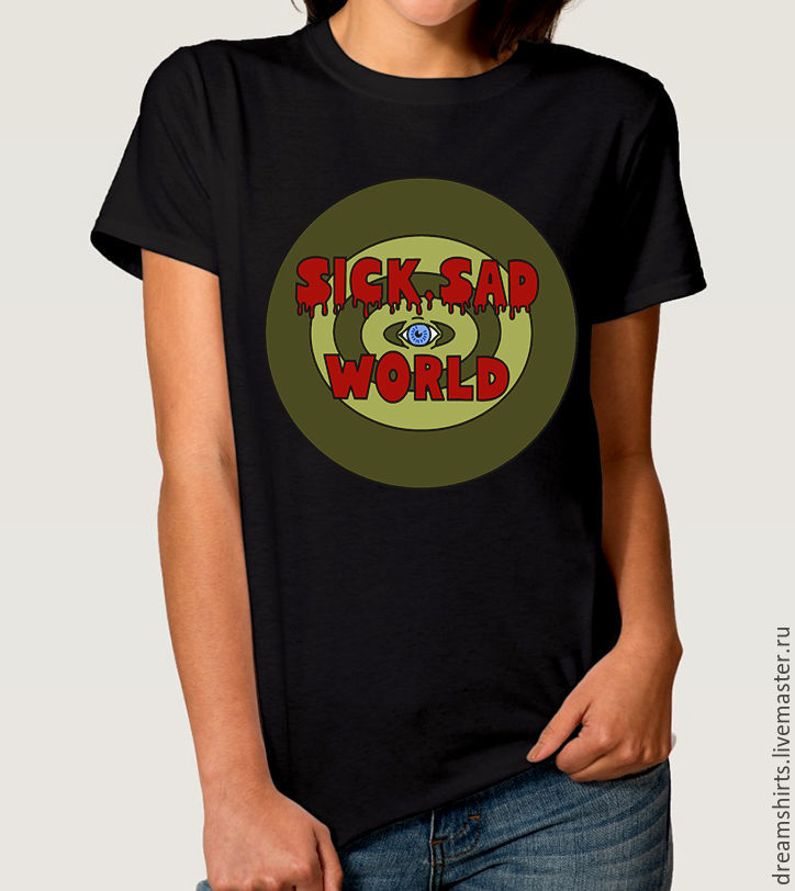 "Футболка с принтом ""Дарья - Sick Sad World"", T-shirts, Moscow,  Фото №1"