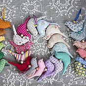 Куклы и игрушки ручной работы. Ярмарка Мастеров - ручная работа Птички текстильные. Handmade.