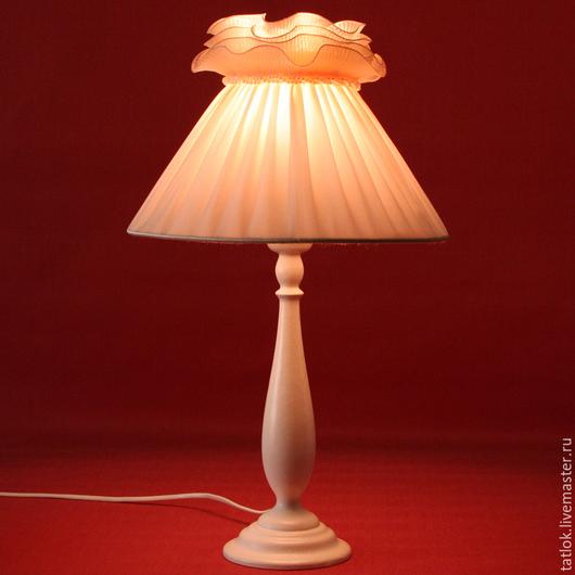 """Освещение ручной работы. Ярмарка Мастеров - ручная работа. Купить Настольная лампа """" Нежнее нежного""""+ корзинка в подарок. Handmade."""