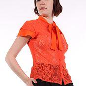 Одежда handmade. Livemaster - original item --40% Fishnet blouse for the summer