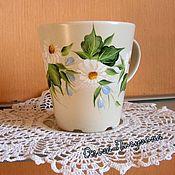 Посуда ручной работы. Ярмарка Мастеров - ручная работа Чашечка для Мамы. Handmade.