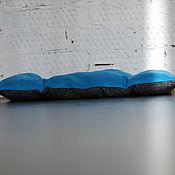 Для домашних животных, ручной работы. Ярмарка Мастеров - ручная работа Подушечка синяя для собаки или кошки Боннифаций 53х35. Handmade.