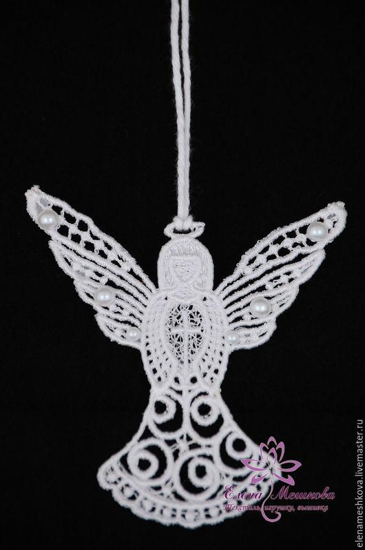 Подарки на Пасху ручной работы. Ярмарка Мастеров - ручная работа. Купить Ангел с Крестом. Handmade. Ангелочек, подвеска