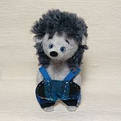 """Куклы и игрушки ручной работы. Ярмарка Мастеров - ручная работа Ёжик """"Руки в брюки"""". Handmade."""