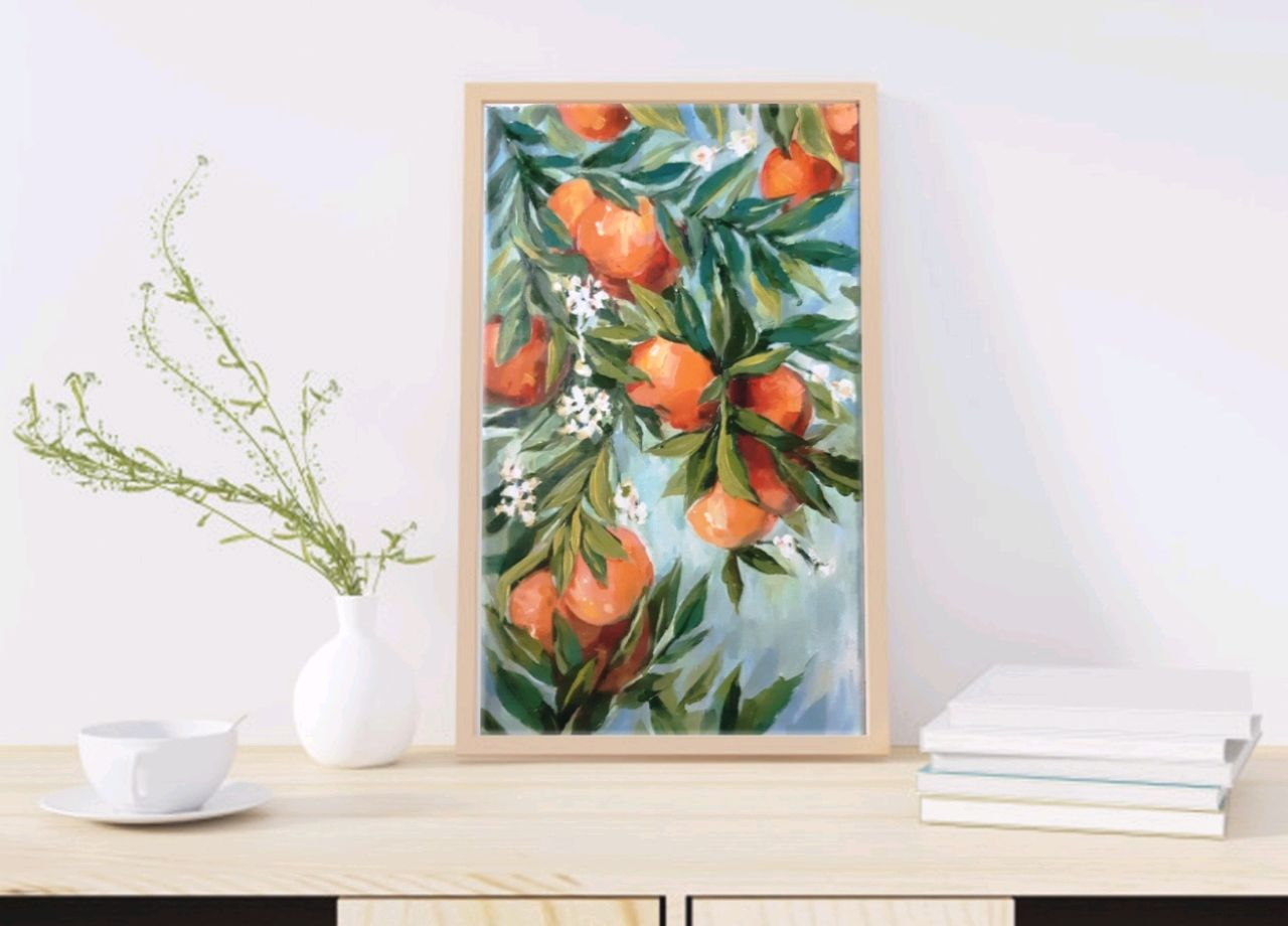"""Картина """"Сочные апельсины"""", Картины, Люберцы,  Фото №1"""