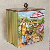 Для дома и интерьера ручной работы. Ярмарка Мастеров - ручная работа Короб для специй, трав. Handmade.