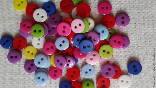 Шитье ручной работы. Ярмарка Мастеров - ручная работа. Купить Пуговицы 9 мм  ( для кукол тильда,шитья,,декора и т. д.). Handmade.