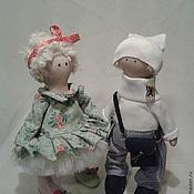 Куклы и игрушки ручной работы. Ярмарка Мастеров - ручная работа кукла большеножка. Handmade.