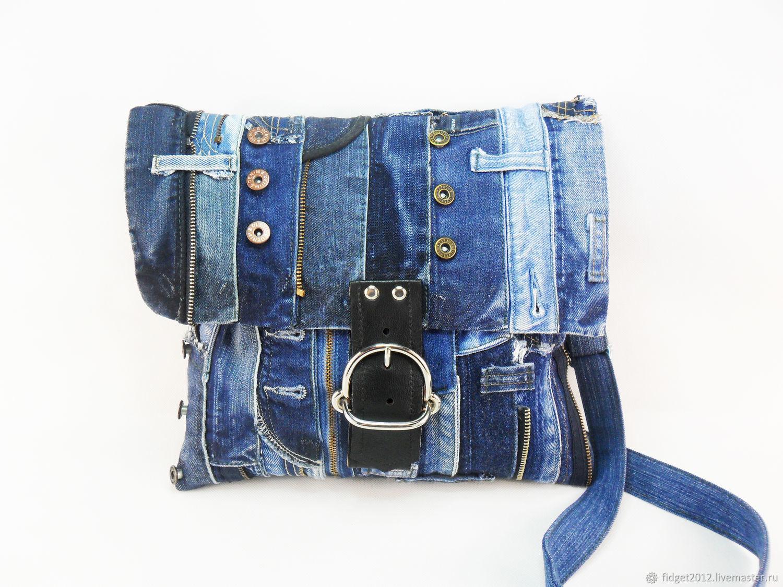 Denim bag Denim youth bag Denim fashion, Classic Bag, Bakhmut,  Фото №1
