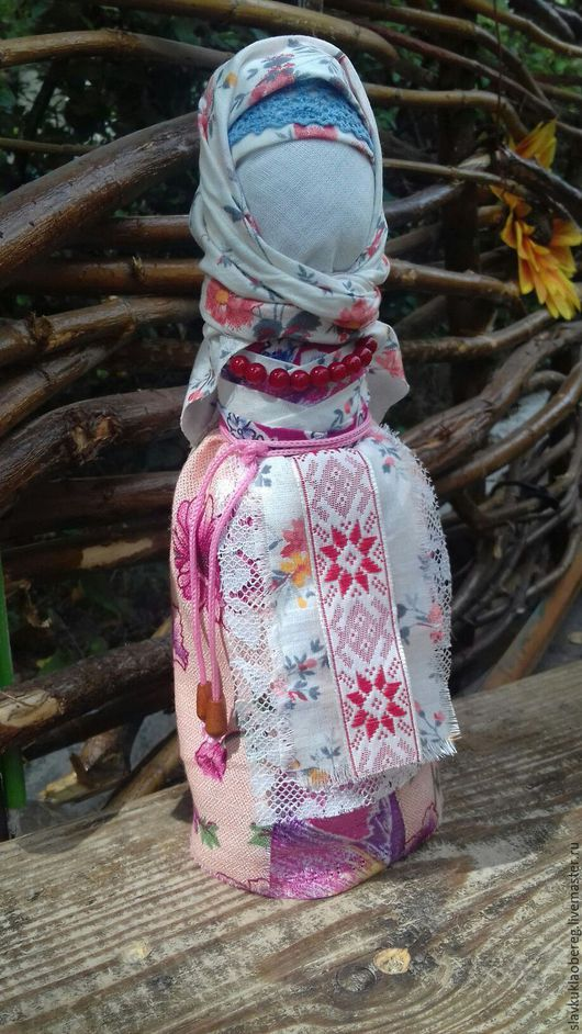 Народные куклы ручной работы. Ярмарка Мастеров - ручная работа. Купить Народная кукла - оберег На счастливое замужество. Handmade.