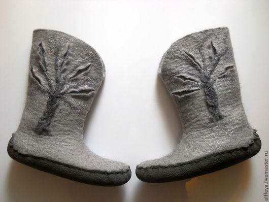 """Обувь ручной работы. Ярмарка Мастеров - ручная работа. Купить Валенки """"Дерева.."""" или """"Зимний сон.."""". Handmade."""