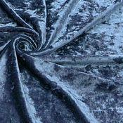 Ткани ручной работы. Ярмарка Мастеров - ручная работа Ткань  бархат  креш 3вида , стрейч.. Handmade.