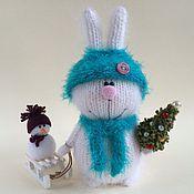 Куклы и игрушки handmade. Livemaster - original item Christmas Bunny.. Handmade.
