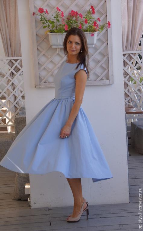 Красивое летнее вечернее платье